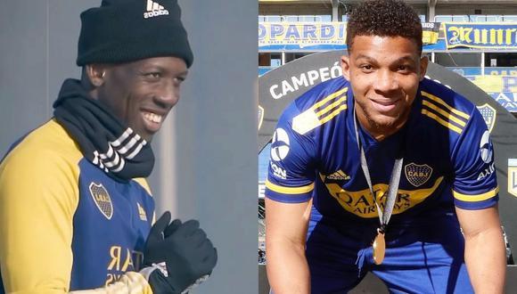 El 'Rayo' troleó a su compañero colombiano tras victoria de Boca Juniors en la liga argentina. (Foto: Instagram @luisadvincula17_ / @fabra18)