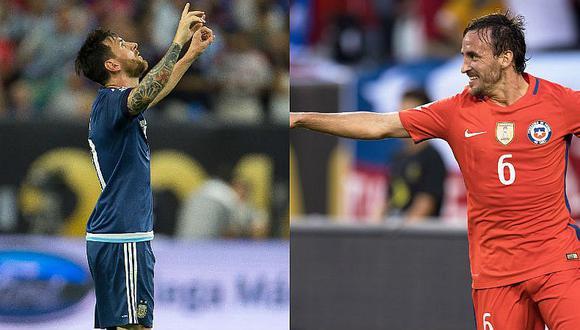 Copa América Centenario: Los números entre Argentina y Chile