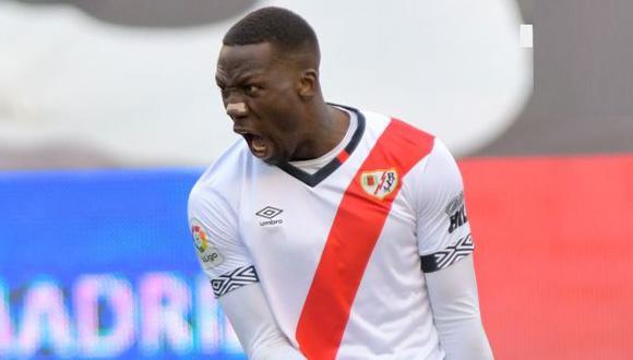 Luis Advíncula llegó a Rayo Vallecano en la temporada 2018/2019. (Foto: Rayo Vallecano)