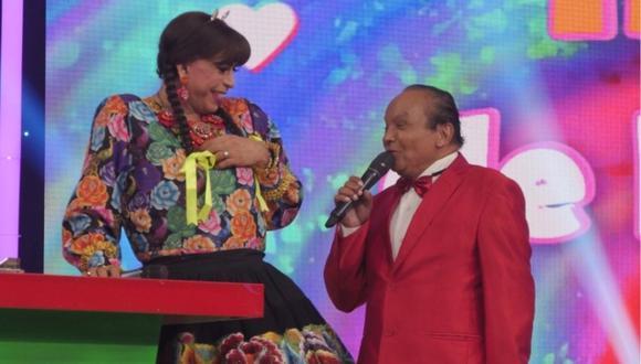 """El actor cómico Melcochita regresa a la TV en un segmento de """"El Reventonazo de la Chola"""". (Foto: América TV)"""