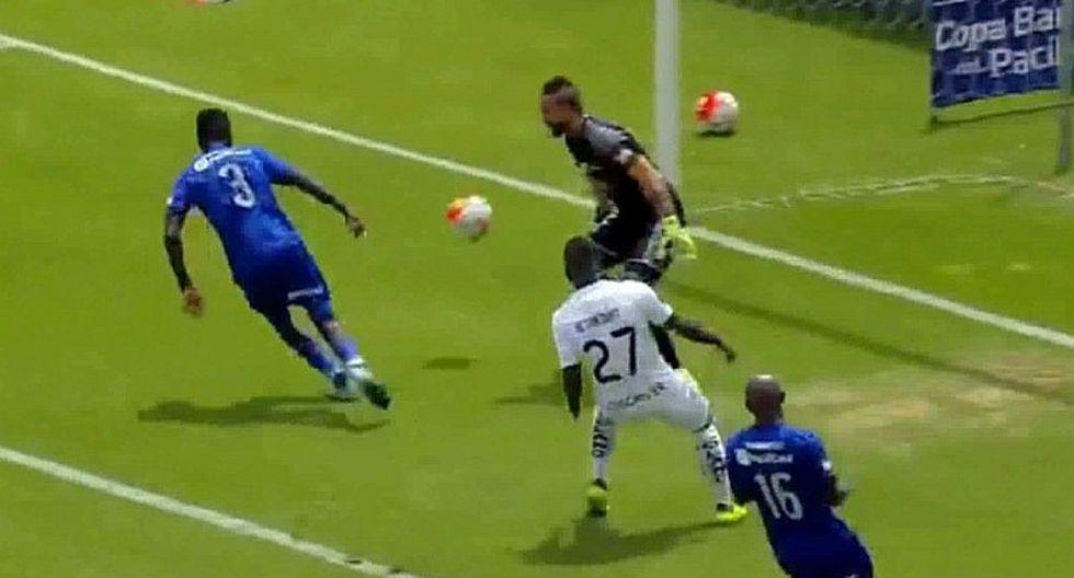 Christian Ramos: así fue el gol en contra de la 'Sombra' en Emelec