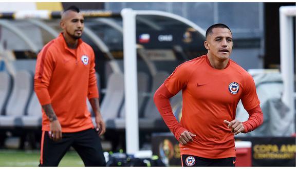 Arturo Vidal y Alexis Sánchez son bicampeones con Chile de la Copa América. (Foto: Agencias)