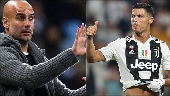 Guardiola elogió a Cristiano Ronaldo tras anotar 'hat-trick' en Champions
