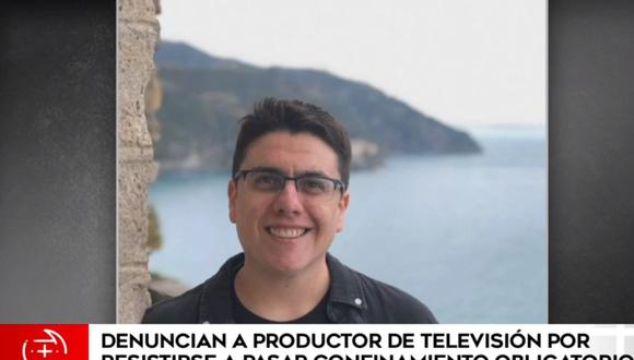 El productor Juan Carlos Valderrama se negó a cumplir cuarentena obligatoria en la Villa Panamericana. (América Noticias)