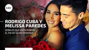 Melissa Paredes y el 'Gato' Cuba: tres señales que anticiparon el fin de su matrimonio NNAV | VR | VIDEO