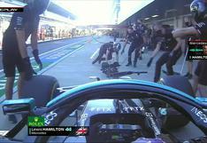 Lewis Hamilton sufrió accidente: atropelló a un mecánico en la práctica del GP de Rusia   VIDEO