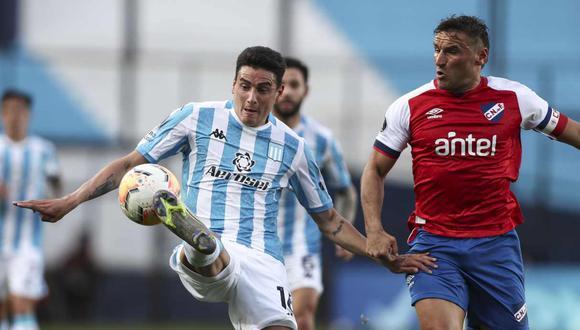 La lista de Racing Club para enfrentar a Alianza Lima en la Copa Libertadores. (Foto: AFP)