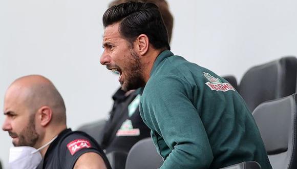 Claudio Pizarro registra 197 goles en la Bundesliga. (Foto: AFP)