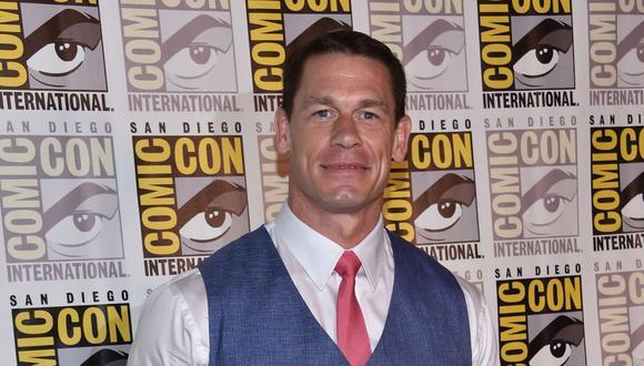 John Cena realizó varias entrevistas por la promoción de la cinta 'Fast and Furious 9'. (Foto: CHRIS DELMAS / AFP)