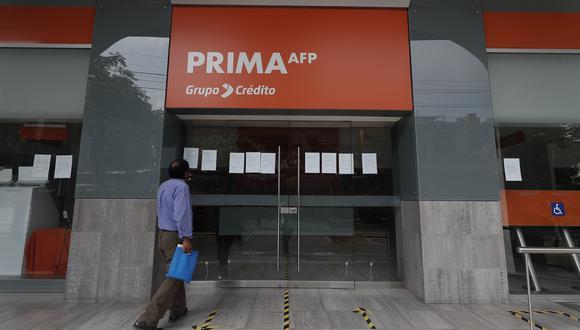 Retiro de AFP. (Foto: Cesar Campos / GEC)