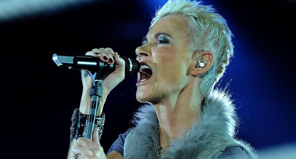 Falleció Marie Fredriksson, cantante de Roxette, a los 61 años. (Foto: AFP)