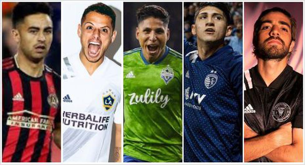Los 20 fichajes más caros en la historia de la MLS. (Foto: AFP)