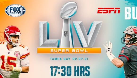 Vive aquí el Super Bowl 2021 en vivo vía ESPN y Fox Sports online en directo. FOTO: NFL México.