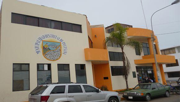 PNP y Fiscalía intervienen Municipalidad de Pucusana por presuntas irregularidades en la entrega de canastas de víveres. (Foto: Ministerio Público)