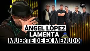 Ángel López, jurado de yo soy, se quiebra al informar el fallecimiento de ex Menudo