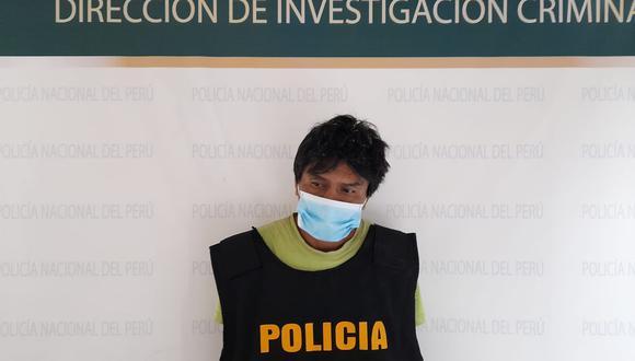 José Freyre Céspedes fue detenido por agentes de la División de Investigación de Estafas de la Dirincri.