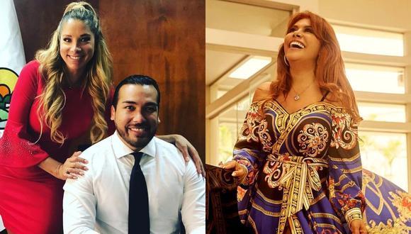 Sofía Franco le responde a Magaly Medina tras críticas por reconciliación con Álvaro Paz de la Barra. (Foto: Instagram @sofiafrancoayllon / @magalymedinav)