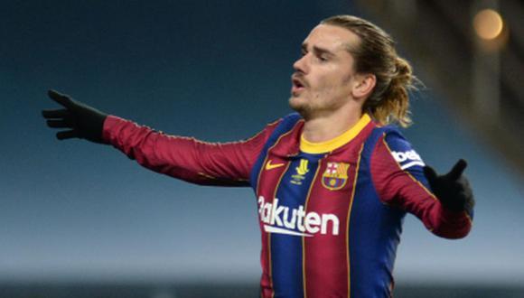 Barcelona buscaría la salida de. Antoine Griezmann debido a su alto sueldo. (Foto: AFP)