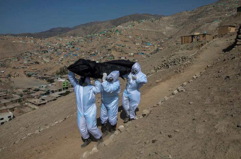 Así informa la prensa internacional sobre el Perú y el coronavirus. (AP)