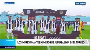 Los impresionantes números de Alianza Lima en la Liga 1