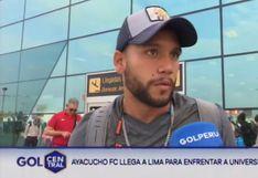 Universitario | Jugadores de Ayacucho FC pasaron tremendo susto en avión rumbo a Lima | VIDEO