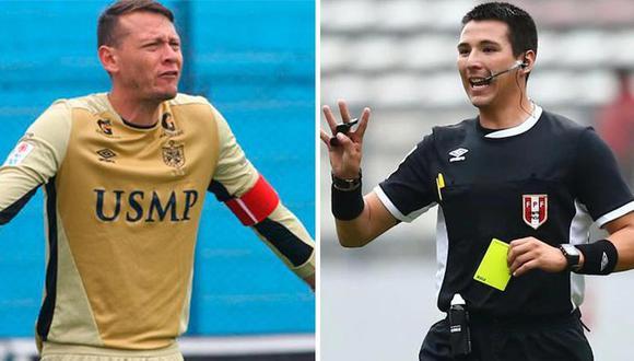 Diego Penny denunció agresión verbal de Kevin Ortega. (Foto: Liga 1/Composición)