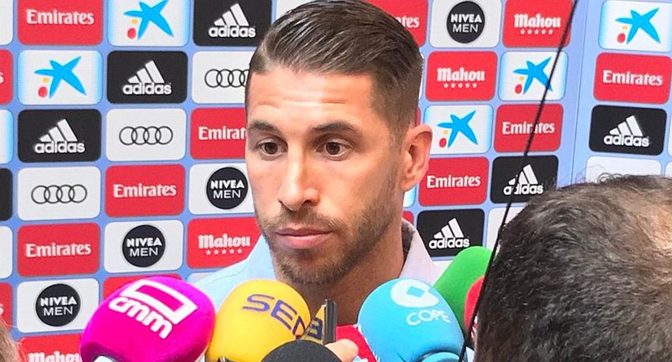 Sergio Ramos evitó polémicas y respaldó a Julen Lopetegui