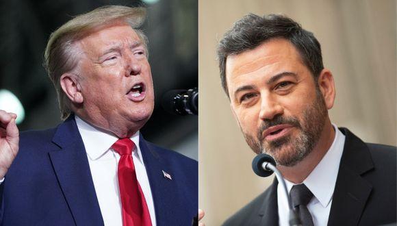 Jimmy Kimmel se pronunica contra Donald Trump. (Foto: AFP)