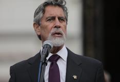 Sagasti anunció la designación del general César Cervantes Cárdenas como nuevo comandante general de la Policía