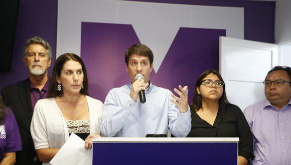 La fecha límite para la presentación de listas de candidatos en las elecciones internas del Partido Morado es el 28 de octubre. (Foto: GEC)