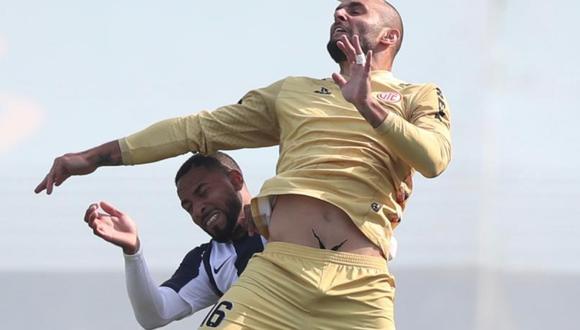 Con goles de Koichi Aparicio y Mauro Guevgeozián, los blanquiazules cayeron en el Alberto Gallardo.