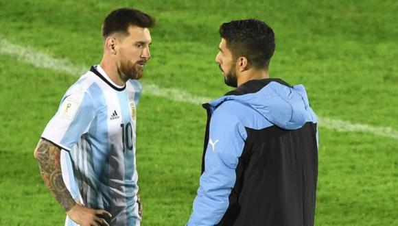Argentina y Uruguay chocarán este domingo en el Monumental de Buenos Aires. (Foto: AFP)