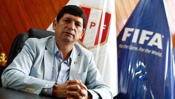 Agustín Lozano mostró su compromiso para que Lima sea una fiesta del fútbol. (Foto: Archivo GEC)