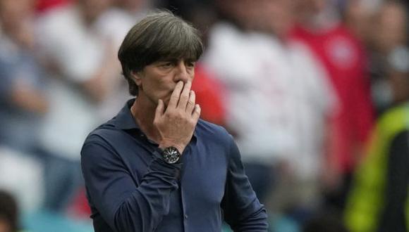 Joachim Löw acabó su historia como entrenador de Alemania tras quince años. (Foto: AFP)