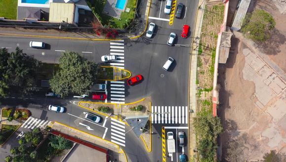 Municipalidad de Lima culminó los trabajos de mantenimiento vial en un tramo de la Av. Circunvalación del Golf. (Foto: Municipalidad de Lima)
