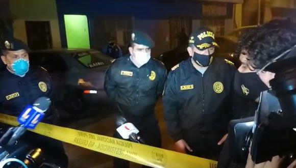 El capitán PNP José Amézquita explica intervención en discoteca Thomas Restobar de Los Olivos. (GEC)