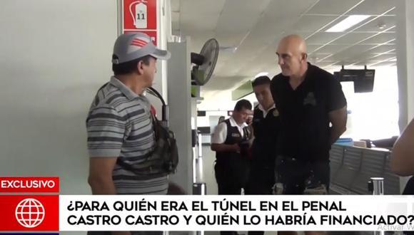 El serbio Zoran Jaksic es sospechoso de haber financiado la construcción del túnel para escapar del penal Miguel Castro Castro. (América Noticias)
