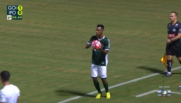 Nilson Loyola debutó con Goiás en Brasil