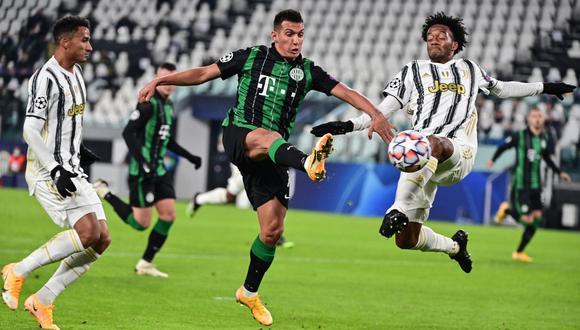 Hoy ESPN en vivo y en directo transmite el partido, Juventus vs. Ferencvaros online por la Champions League