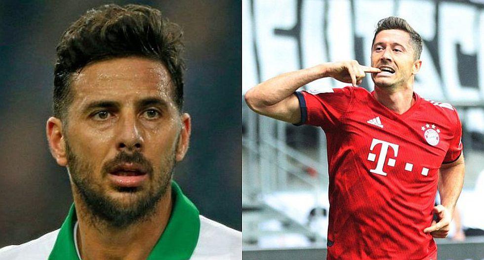 Robert Lewandowski revela 3 cosas que copió de Claudio Pizarro