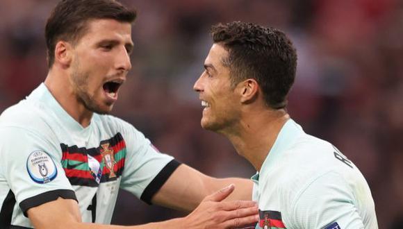 Portugal vs. Alemania: chocan en el Allianz Arena por la Eurocopa 2021. (Foto: AFP)