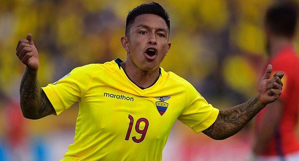 Ecuador sufre importante baja para amistoso contra la selección peruana