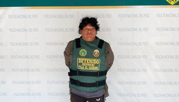 El detenido Nilton Gonzales es investigado en la Depíncri Villa El Salvador.