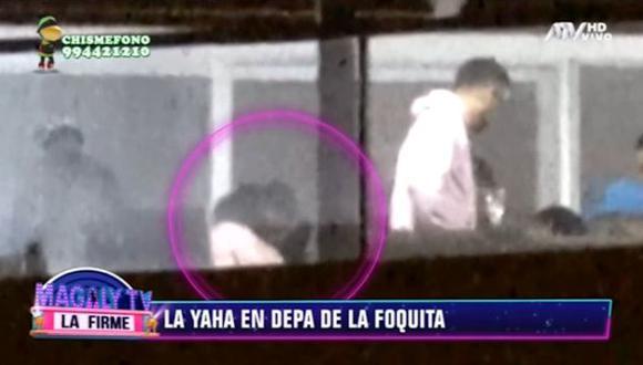 Yahaira Plasencia ingresó al departamento de Jefferson Farfán, quien se encuentra en Rusia. (Imagen: ATV)