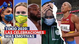 Tokio 2020: Estas son las celebraciones más emotivas en lo que va de los Juegos Olímpicos