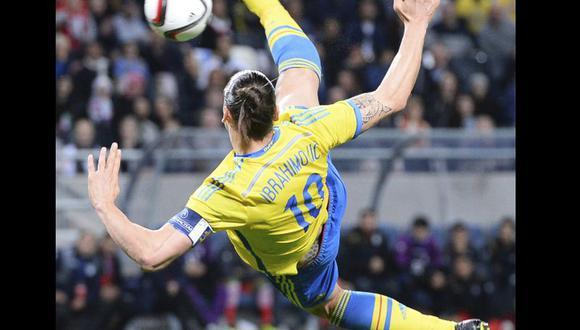 Amistoso FIFA: Suecia venció a Irán con gol de Zlatan Ibrahimovic [VIDEO]