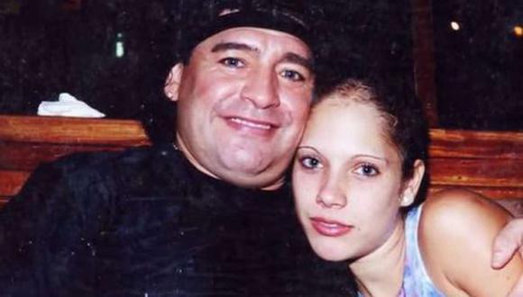 Mavys Álvarez, expareja de Diego Maradona, teme por la vida de su madre en Cuba. (Foto: América TeVé, Miami)
