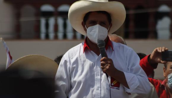 En su visita a Trujillo Pedro Castillo se refirió a la SUNEDU y aseguró que corregirá su accionar. (Randy Reyes)