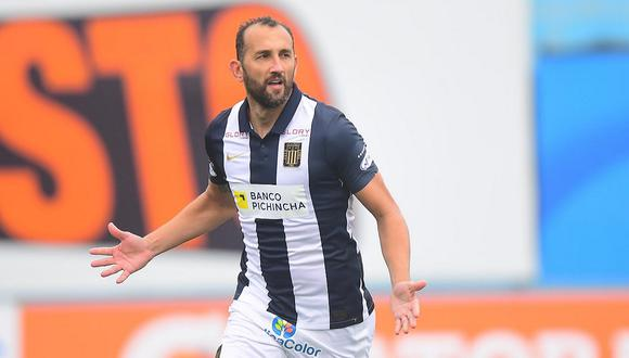 Hernán Barcos analizó su actuación en la victoria de Alianza Lima. (Foto: Liga 1)