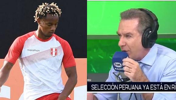 Selección peruana | Perú vs. Bolivia: Eddie Fleischman culpa a las redes sociales de la suplencia de André Carrillo